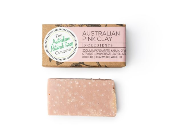 Australian Pink Clay Cleanser Guest Soap